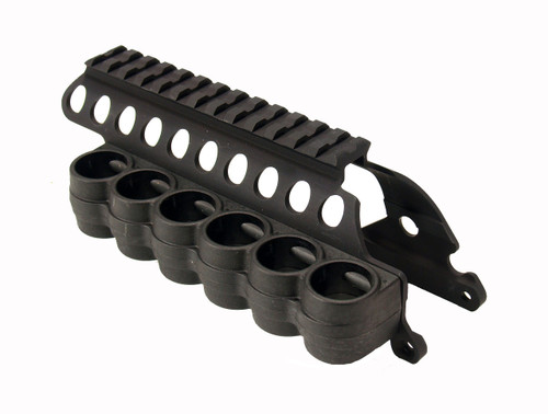 SureShell® Polymer Carrier And Saddle Rail For Rem 870/1100/11-87 (6-Shell, 12-GA, 5 In)