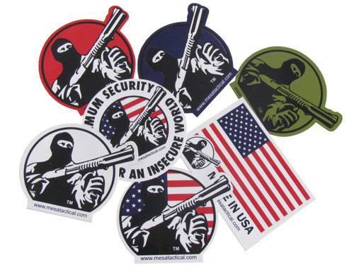 Mesa Tactical Sticker Pack (7-Pack)