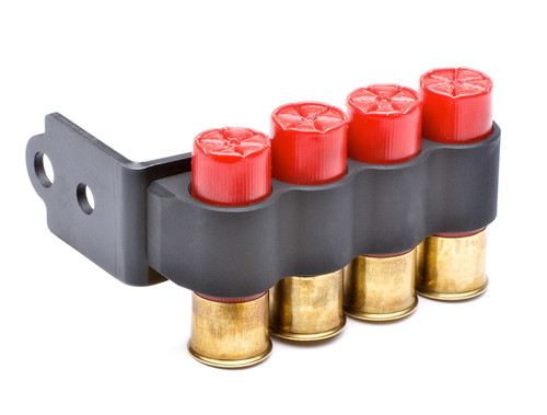 Stock Mount SureShell® Carrier For Ben Tac Stocks (Except Ben M4) (Hook Loop, 4-Shell, 12-GA)