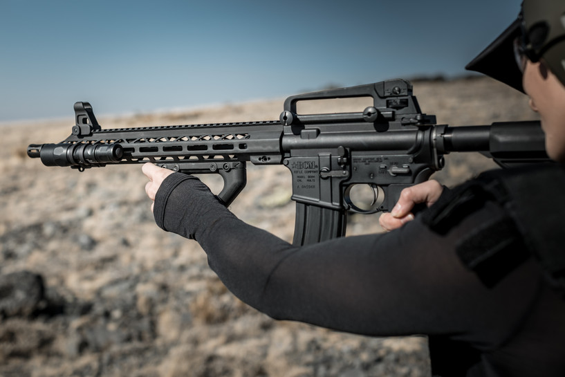 Mesatac™ Pyramid™ free float handguards for AR-15 rifles and