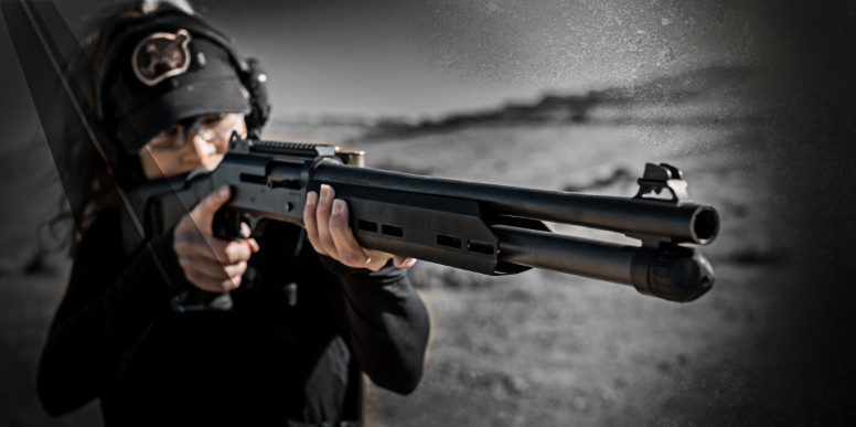 COMING SOON Truckee™ forend for the Benelli M4