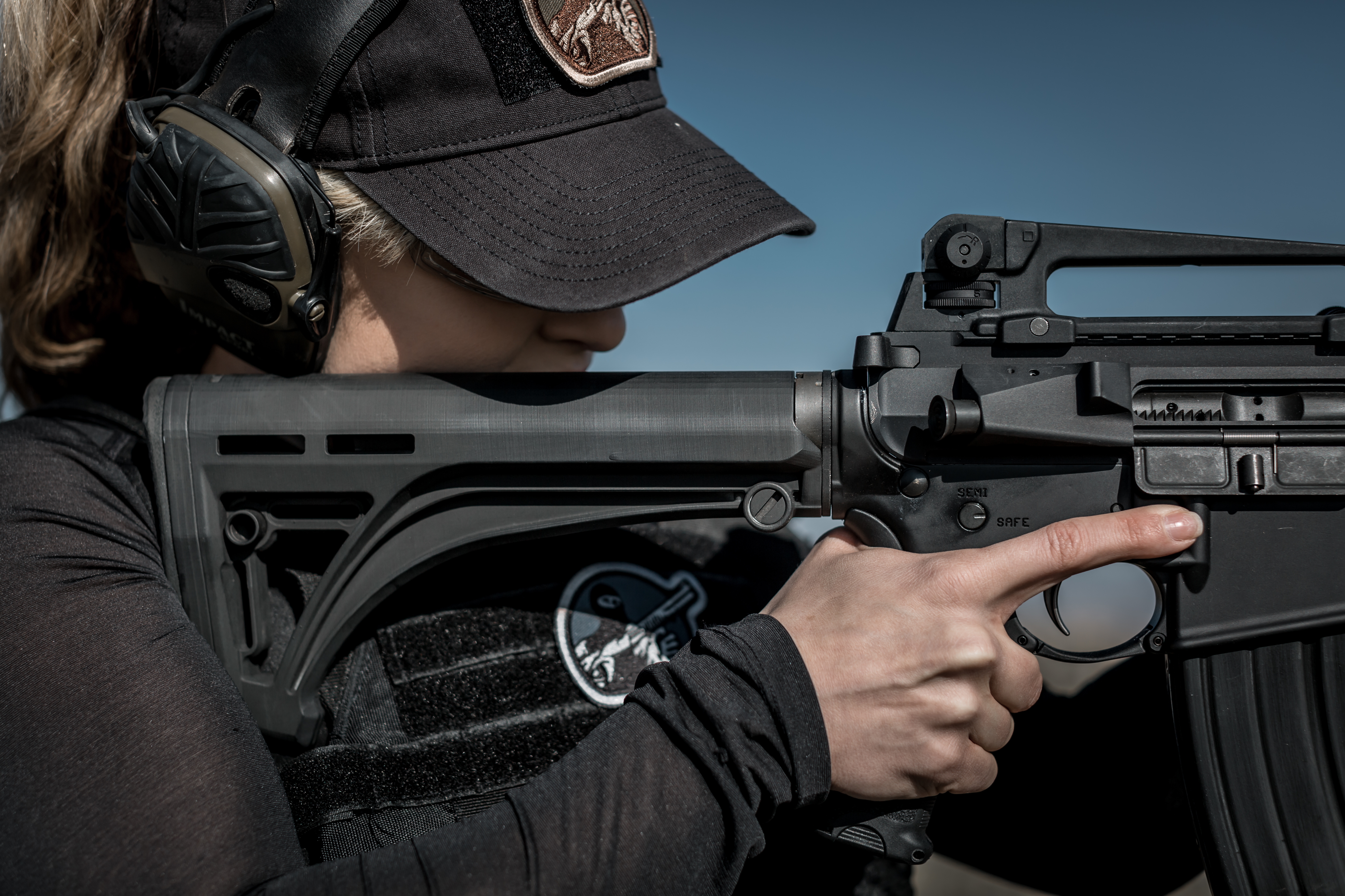 NEW Mesatac™ Black Rock™ stocks for AR-15 rifles and carbines