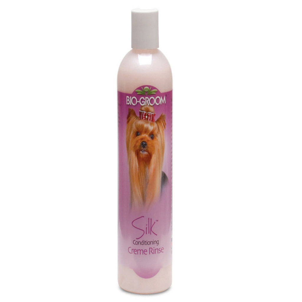 Bio-Groom Silk 12 oz   Conditioning Creme Rinse for Dogs and Cats