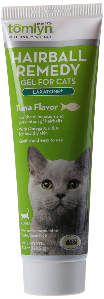 Tomlyn Laxatone Cat Hairball Treatment Tuna Great Tasting Lubricant 4.5 oz