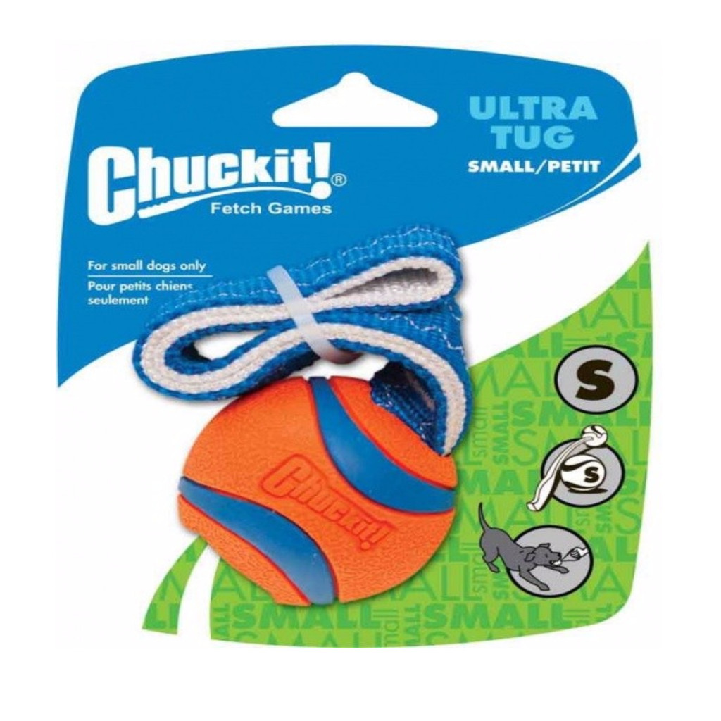 Canine Hardware Chuckit Ultra Tug Ball Launcher Compatible Rubber Small