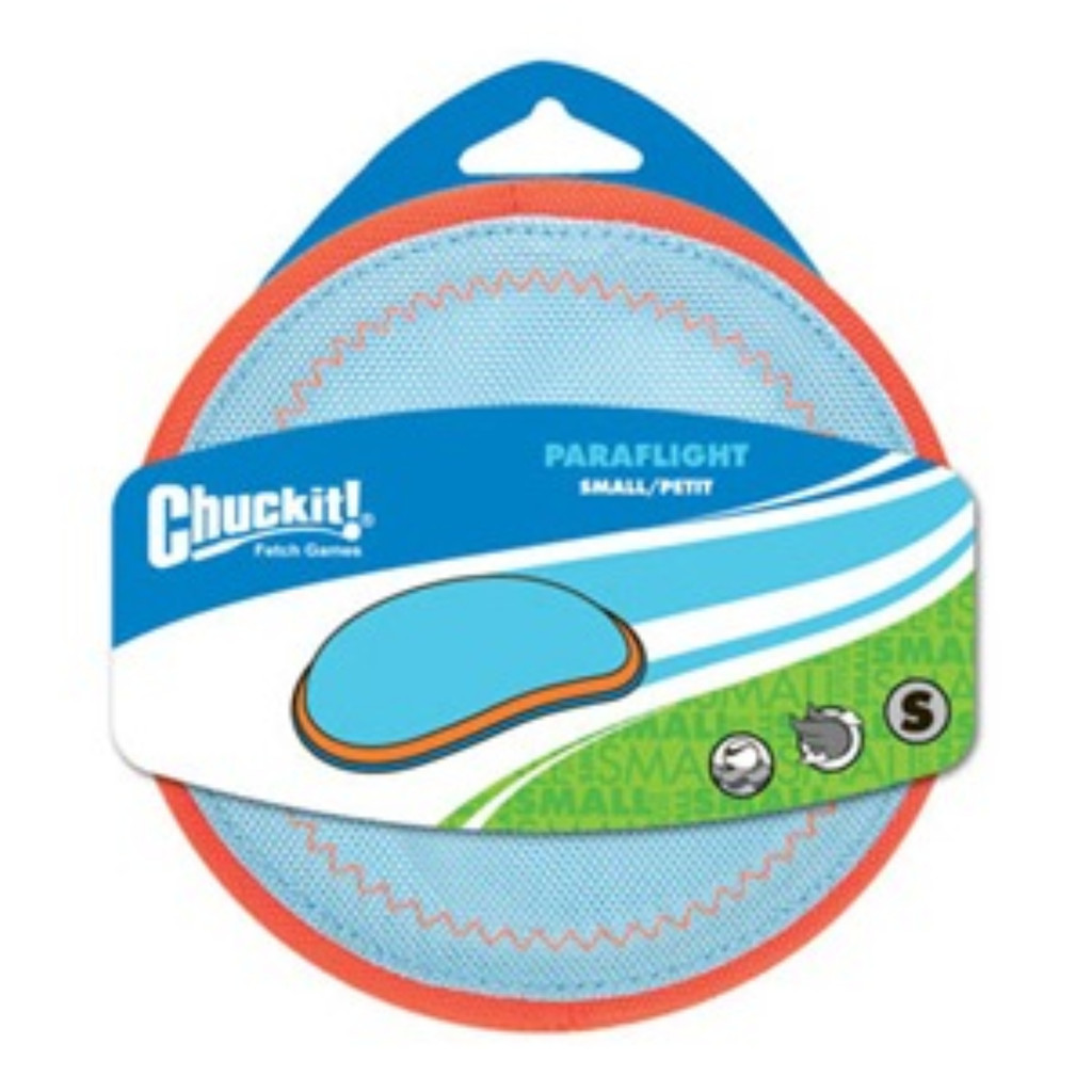 Chuckit PARAFLIGHT Dog Fetch Toy Small Frisbee Great for Land and Water 6.5 Inch
