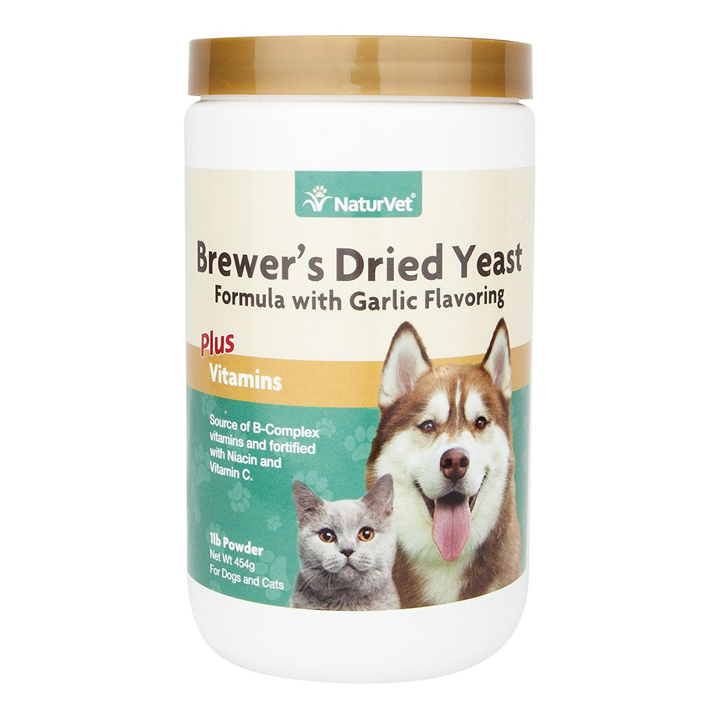 NaturVet BREWERS Dried Yeast Formula Powder for Dogs and Cats 1 lb