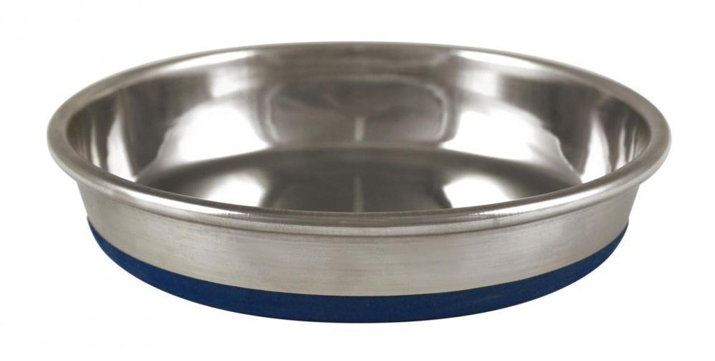OurPets Durapet NO SKID Stainless Steel Food and Water CAT Bowl 6 ounce