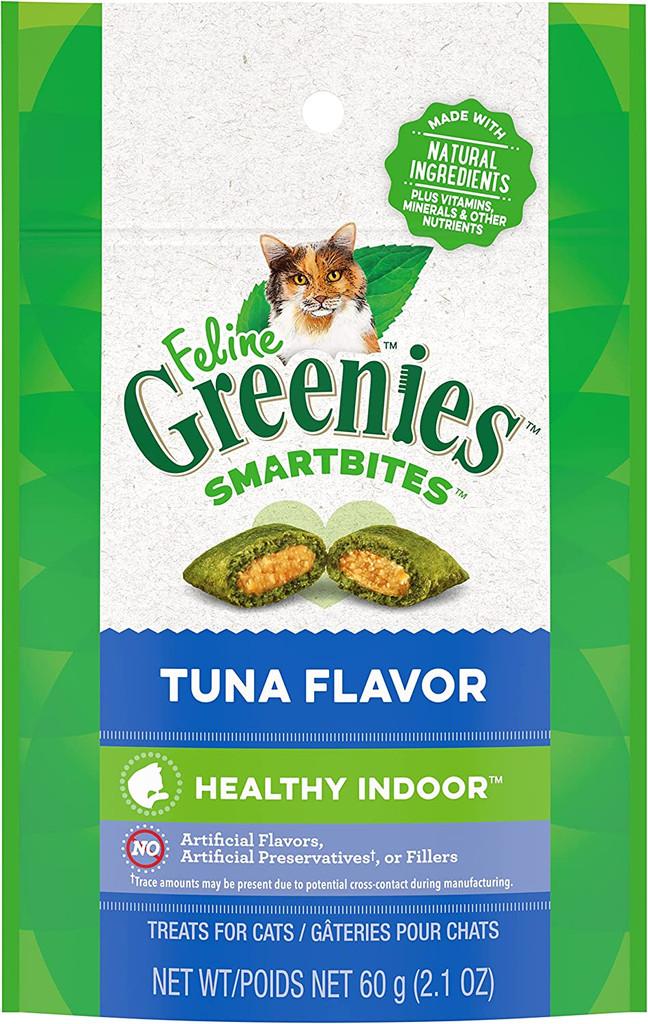 Feline Greenies Smartbites Hairball Remedy 2.1 oz Tuna | Treats for Cats