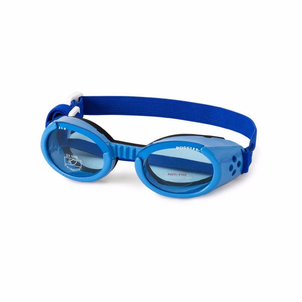 Doggles ILS Dog Goggles Sunglasses Blue / Blue Large