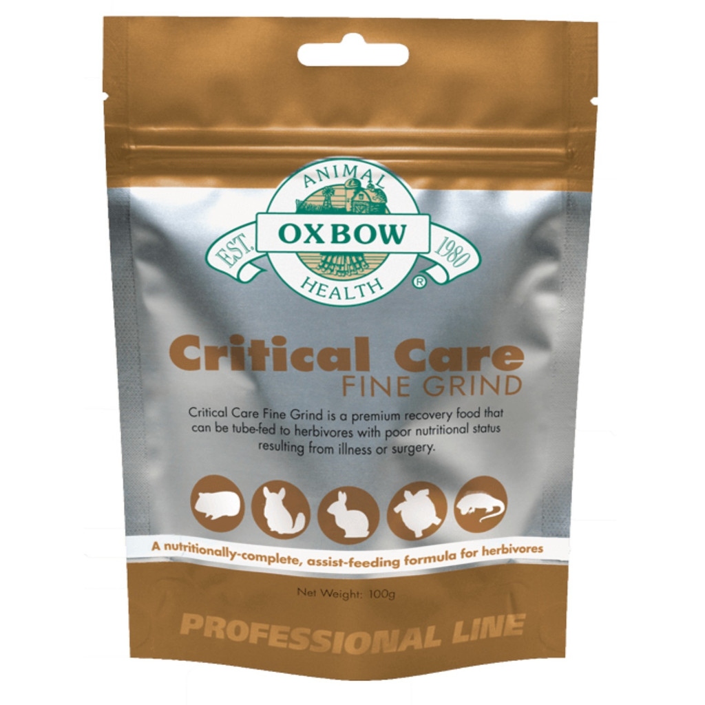 OXBOW Herbivore Critical Care Fine Grind Animal Pet Supplement Complete Feeding