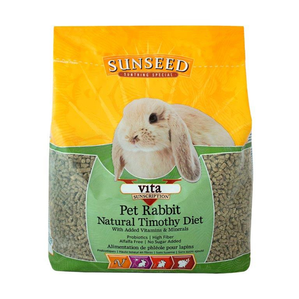 SunSeed Vita Pet Rabbit Natural Timothy Diet 5 lb