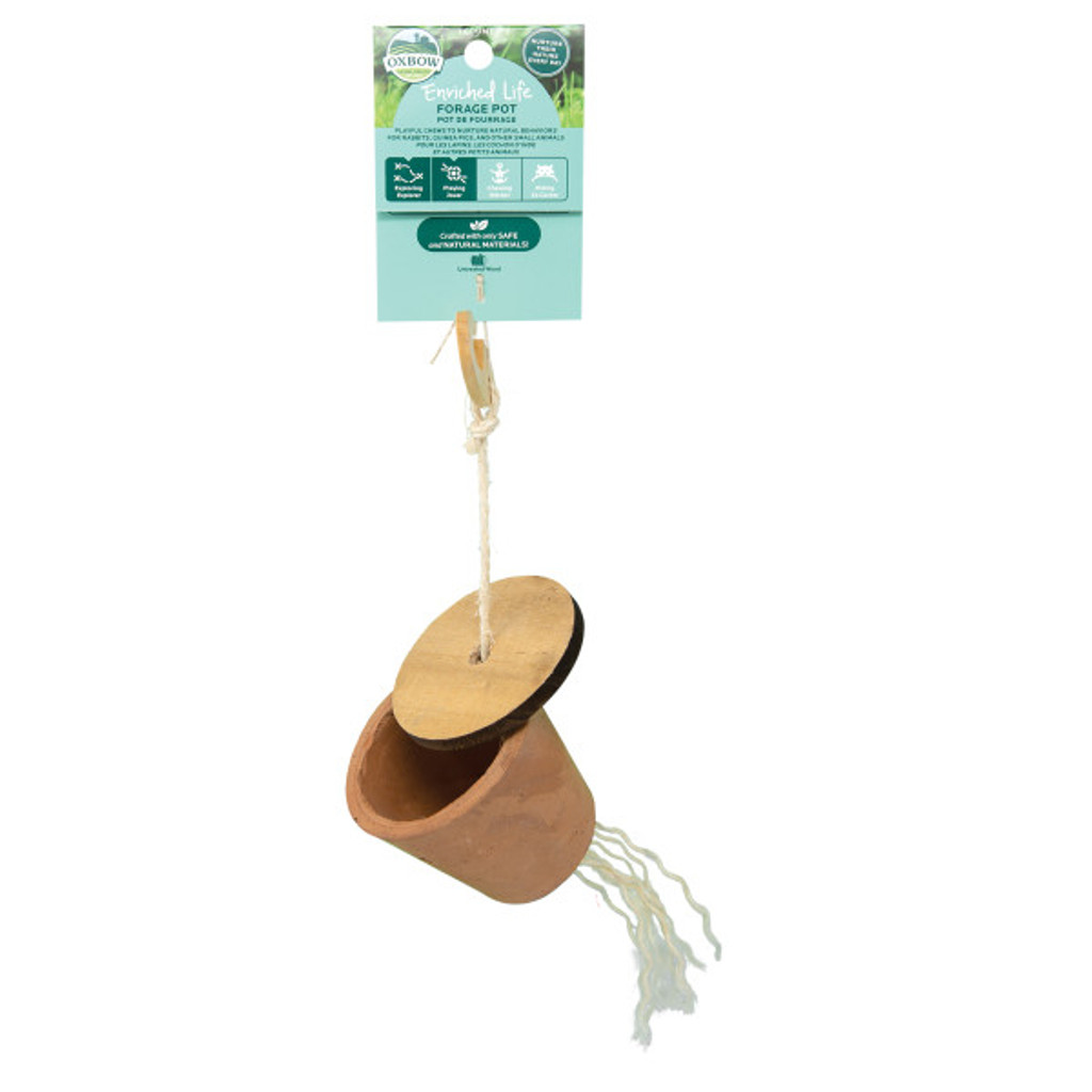 Oxbow Enriched Life Forage Pot for Small Animals