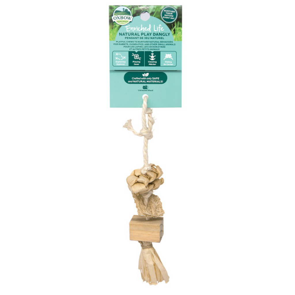 Oxbow Enriched Life Natural Play Dangly for Small Animals