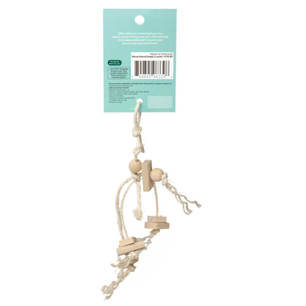 Oxbow Enriched Life Deluxe Natural Dangly for Small Animals