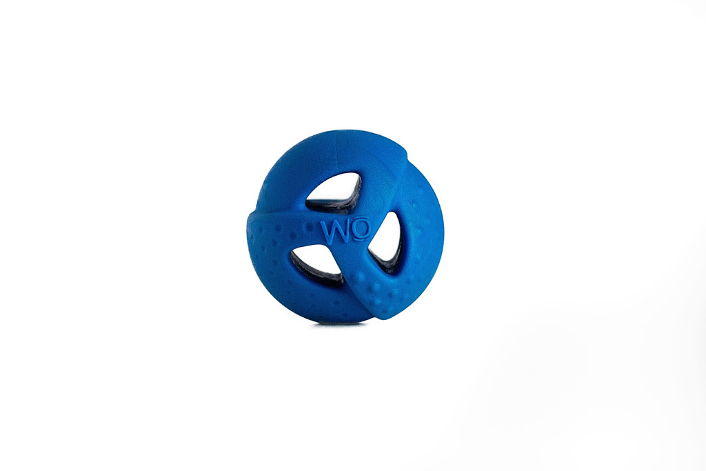 WO Ball Blue Ball Toy for Dogs