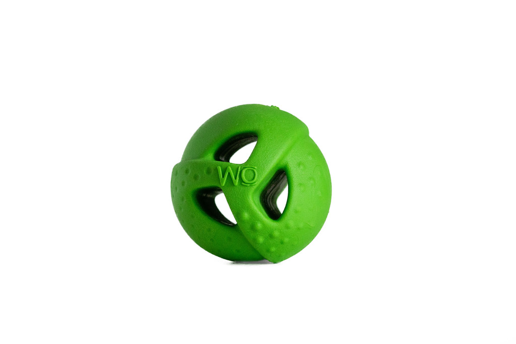 WO Ball Green Ball Toy for Dogs