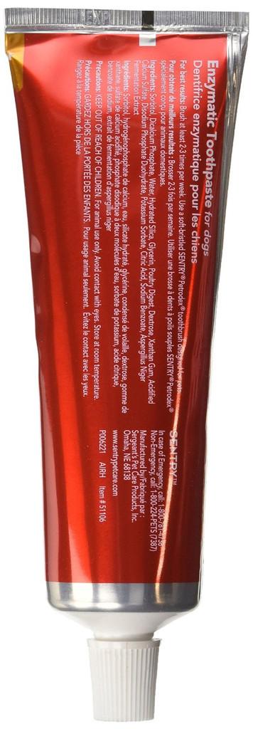 Petrodex Advanced Dental Care Enzymatic Toothpaste Poultry Flavor 2.5 oz