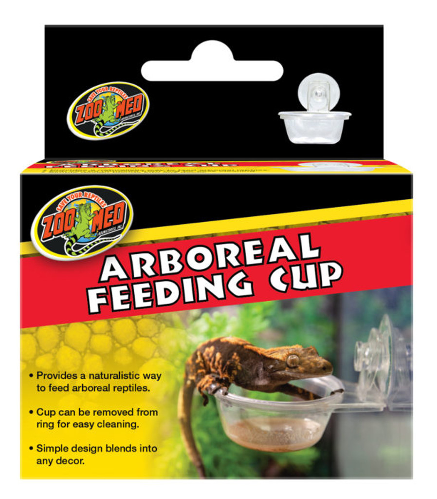 Zoo Med Arboreal Feeding Cup for Glass Terrariums