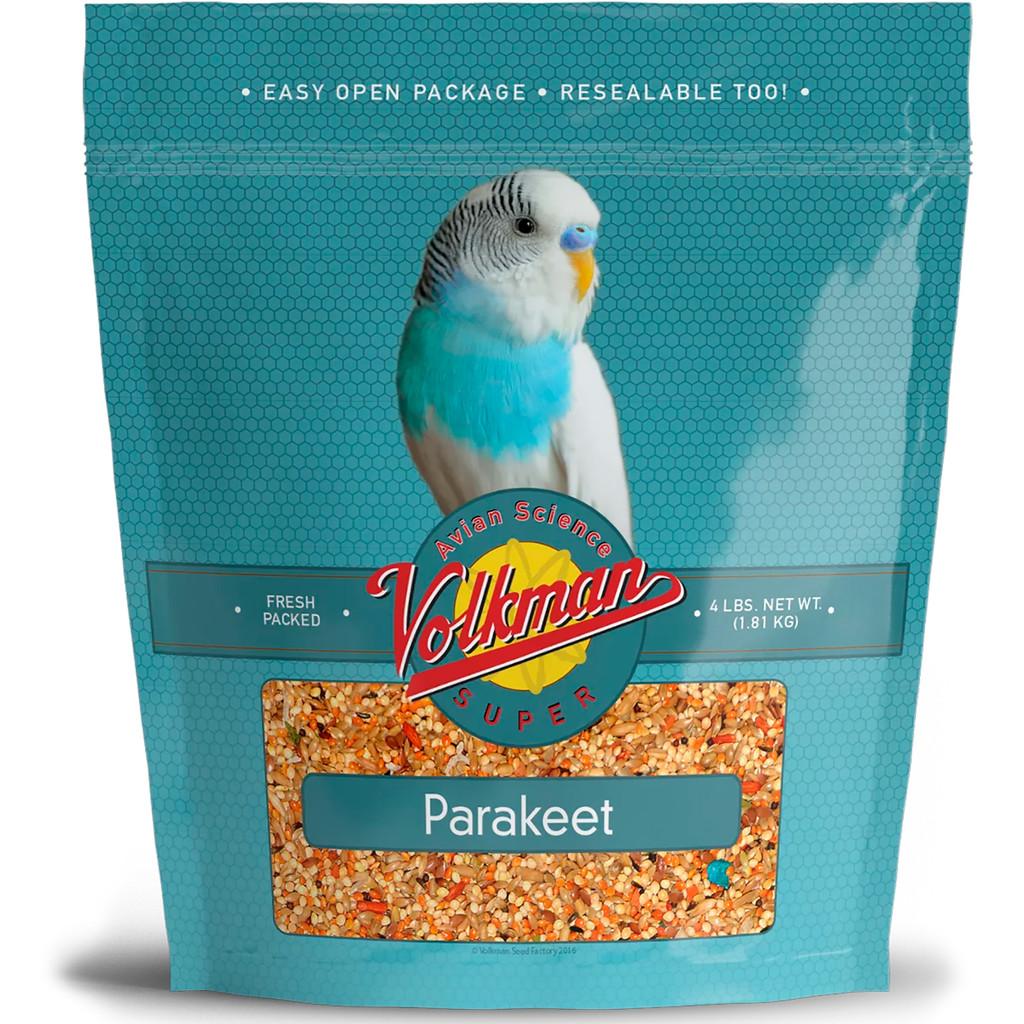 Volkman Seed Avian Science Super Parakeet Nutritionally Balanced Diet Food 4 lbs