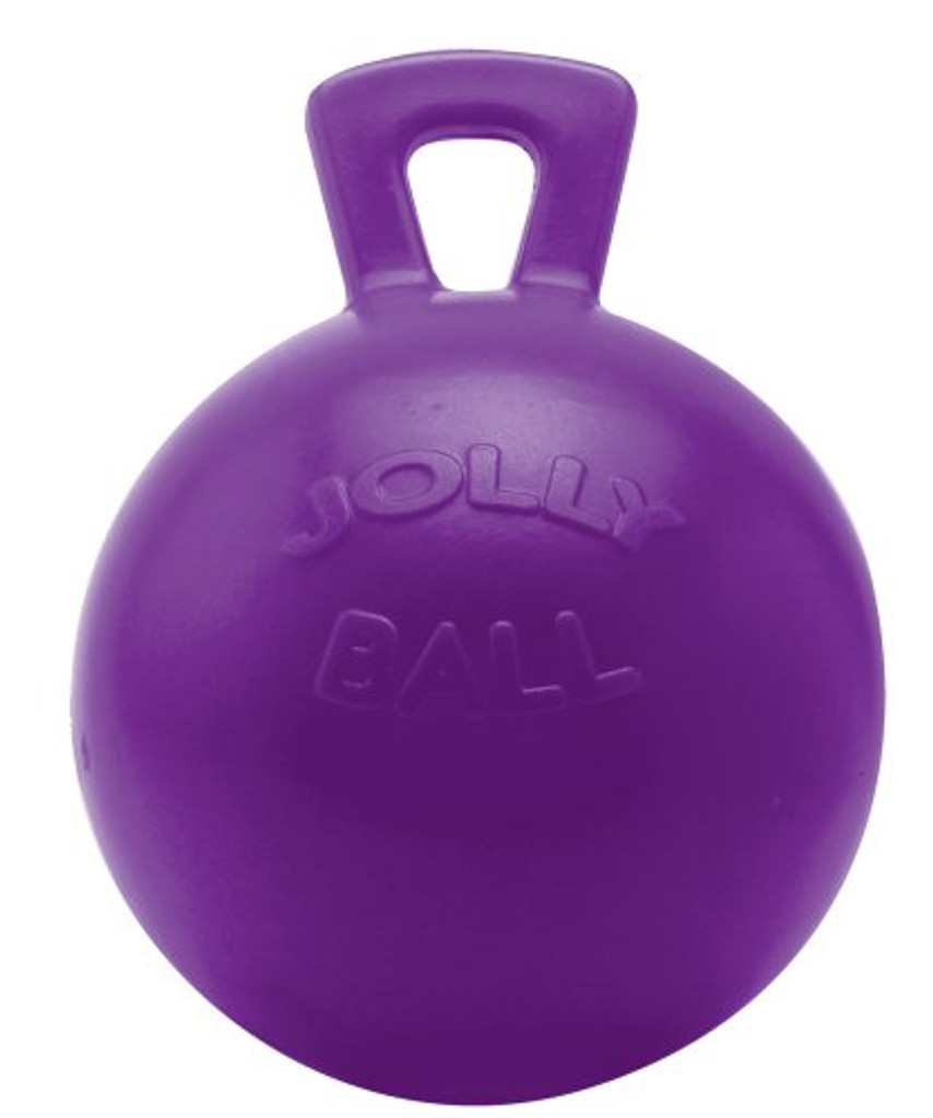Horsemen's Pride Tug N Toss Jolly Ball Extra Large Purple Toy for Dogs Horses