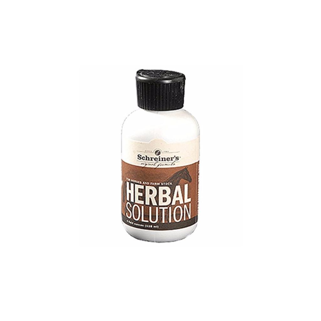 Schreiners Herbal Solution Alternative Wound and Skin Care Liniment 4oz