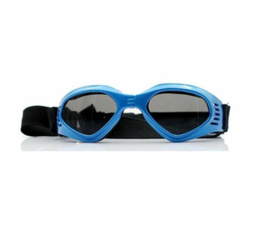 Doggles ORIGINALZ Dog Goggle Sunglasses in Blue Frame Medium