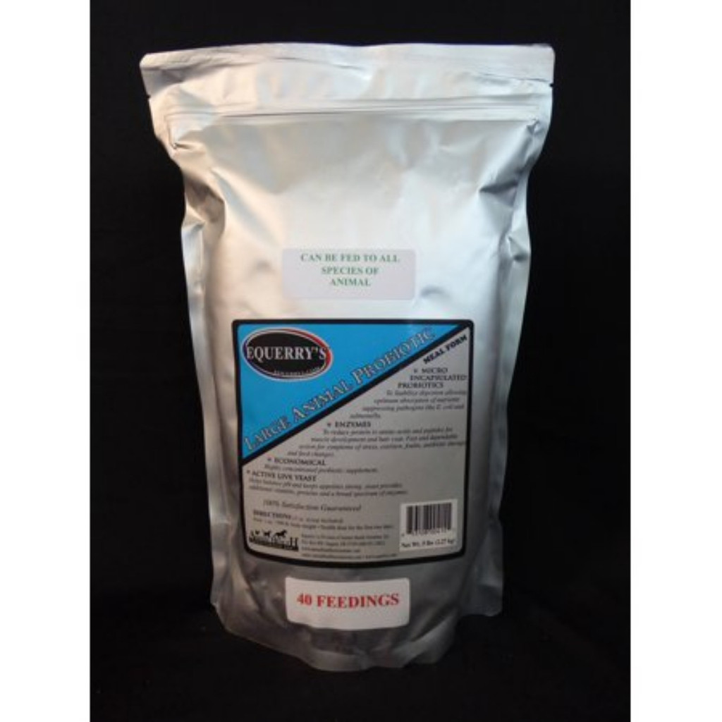 Equerry's Large Animal Probiotic 40 Feedings for 1000 lb. Horse, 5lb.