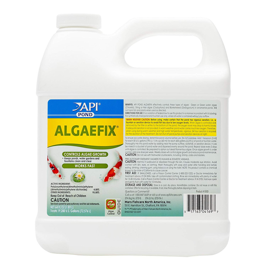 API Pond AlgaeFix Pond Algae Treatment 64 Ounces