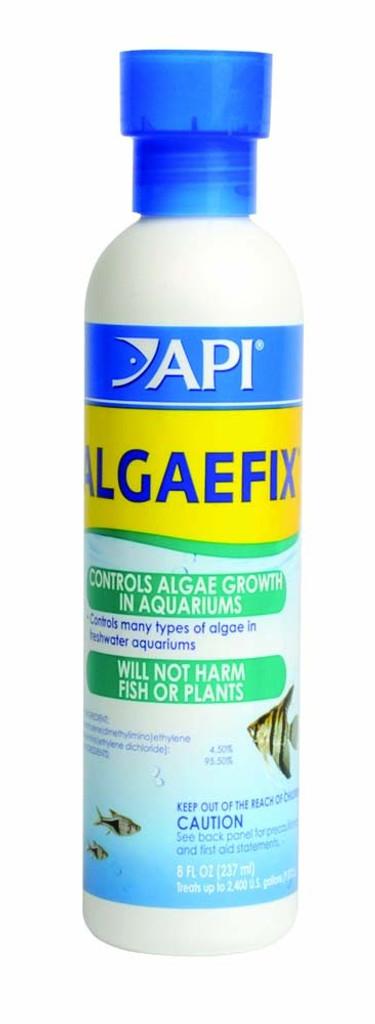 API AlgaeFix Carded Controls Algae Treatments Growth Freshwater Aquariums 8 oz