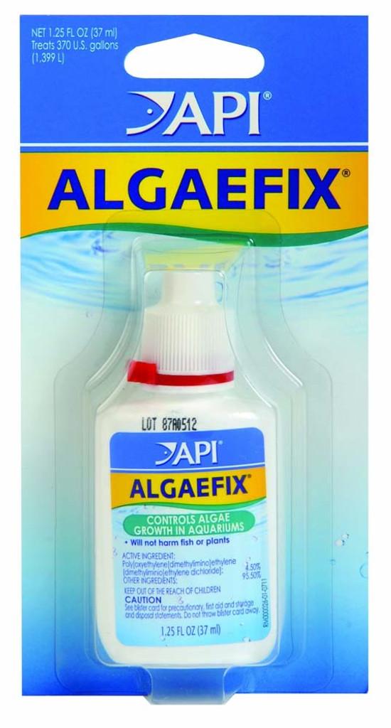 API AlgaeFix Carded Controls Algae Growth in Freshwater Aquariums 1.25 oz