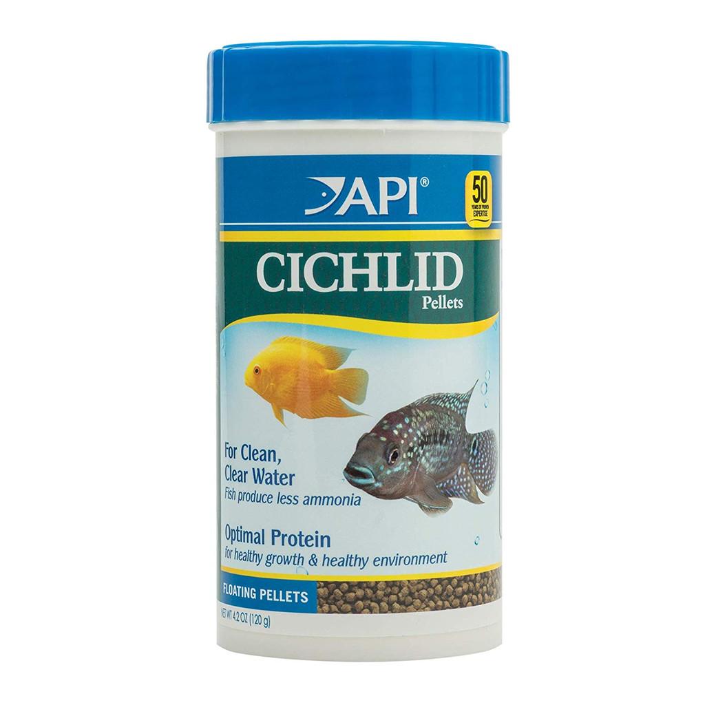 API Cichlid Premium Floating Pellets for Cichlids 4.2 Ounces