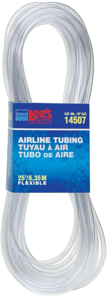 Lee's Aquarium Airline Tubing Clear Flexible Plastic 25 Feet