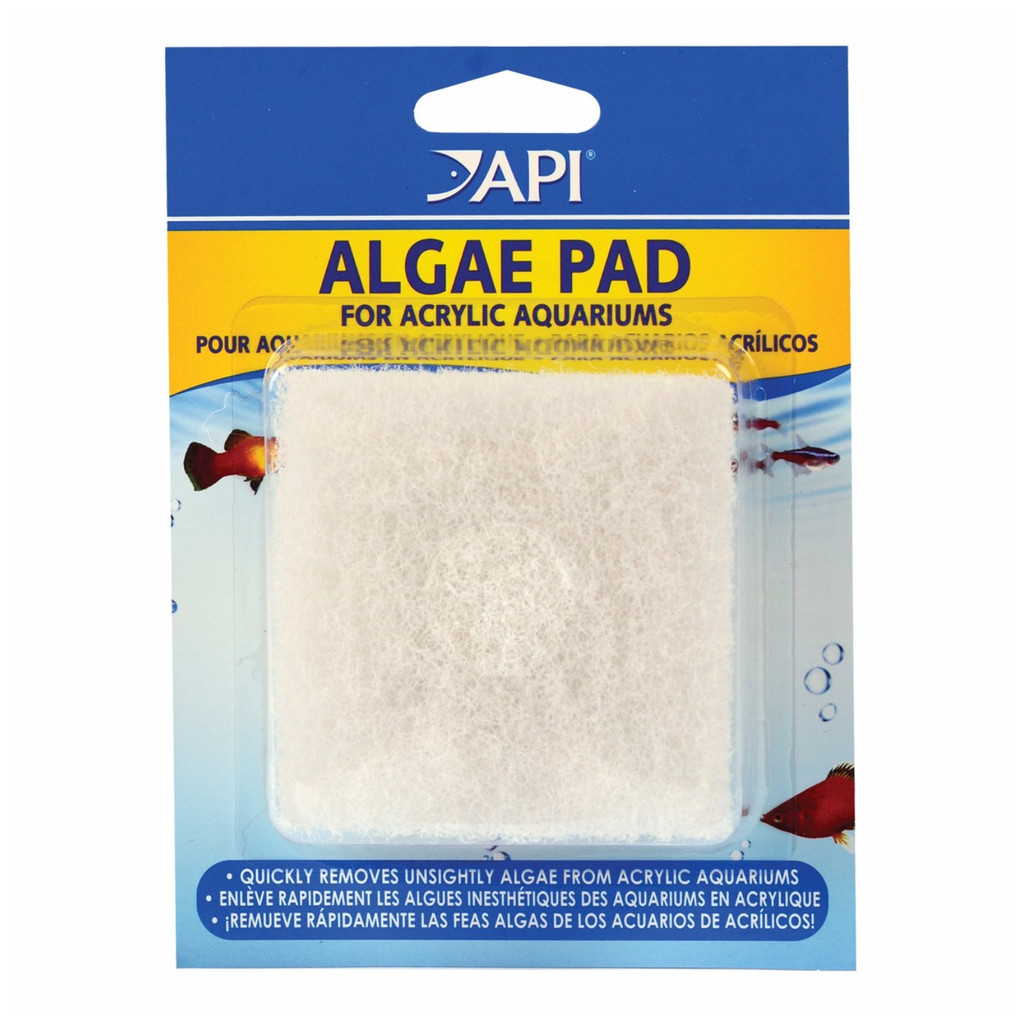 API Doc Wellfish's Hand Held Algae Pad Acrylic Aquariums Indestructible Clean