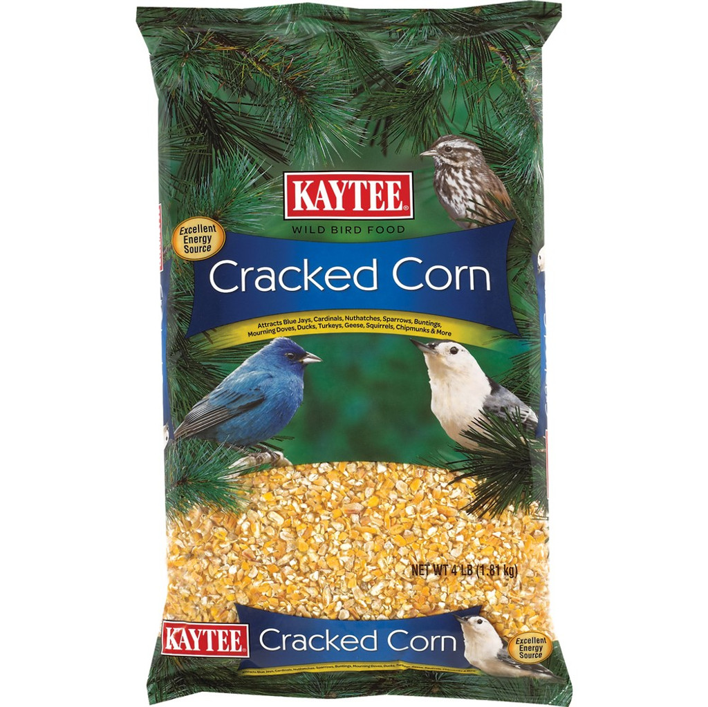 Kaytee Cracked Corn High-Energy Formula Feed for Small Animals 4 pounds