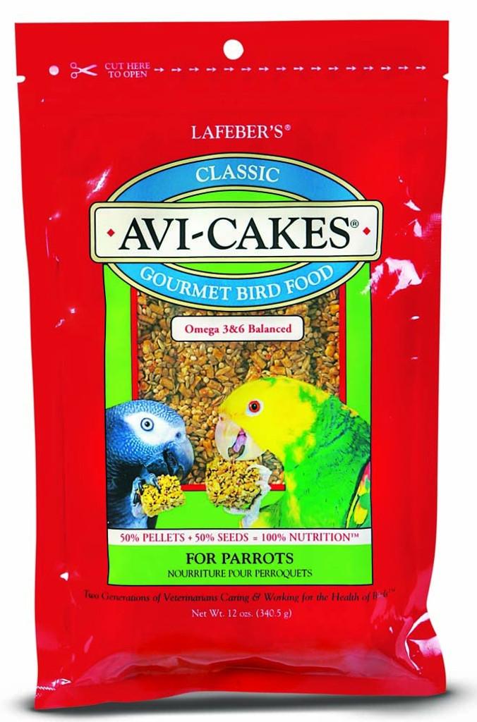 Lafeber's Avi-Cakes Gourmet Bird Food Treats 12 ounces | Nutritious Foraging Fun
