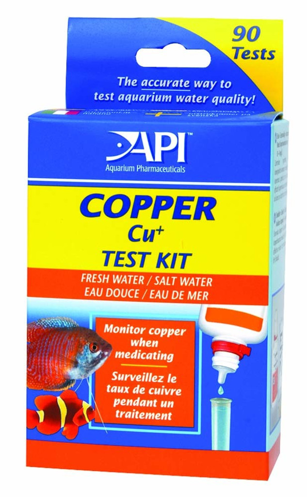 API Copper Test Kit 90 count   For Freshwater and Saltwater Fish Aquariums