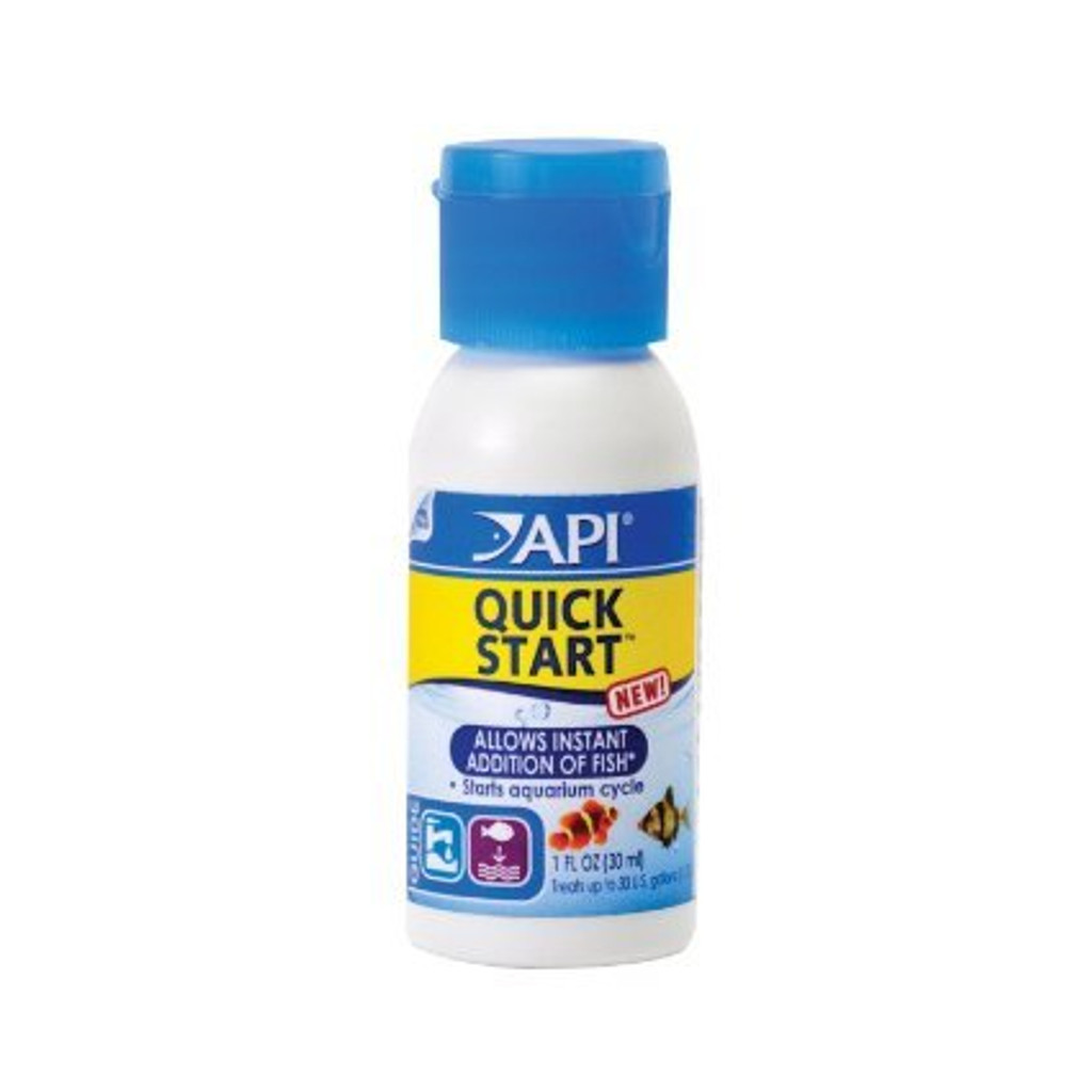 API Quick Start Fresh and Saltwater Nitrifying Bacteria 1 Ounce