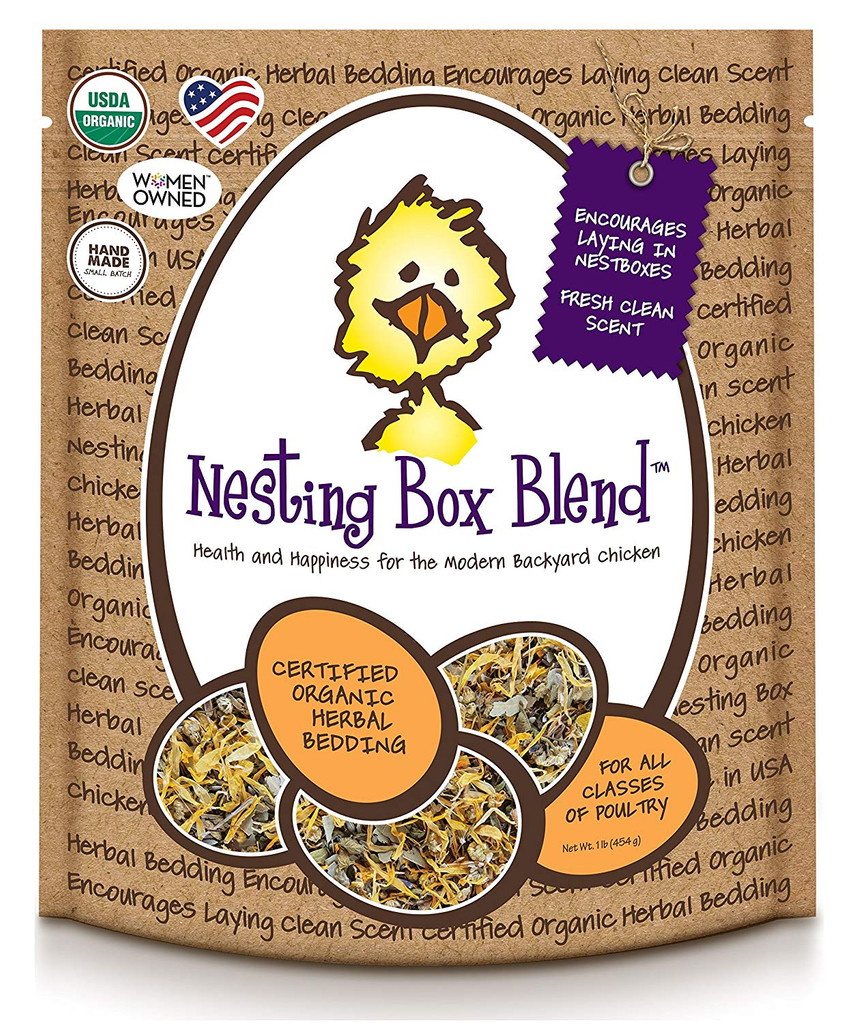 Treats For Chicken Natural Healthy Organic Nesting Box Blend Coop Treats 1lbs