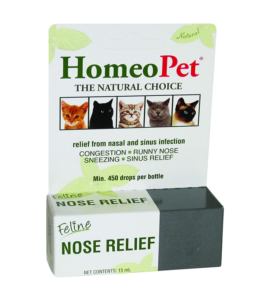 HomeoPet Feline Nose Relief for Cats 15ml