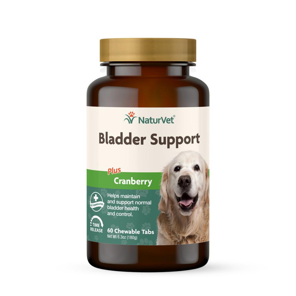 NaturVet Senior Dog Natural BLADDER SUPPORT with Cranberry 60 Tablets