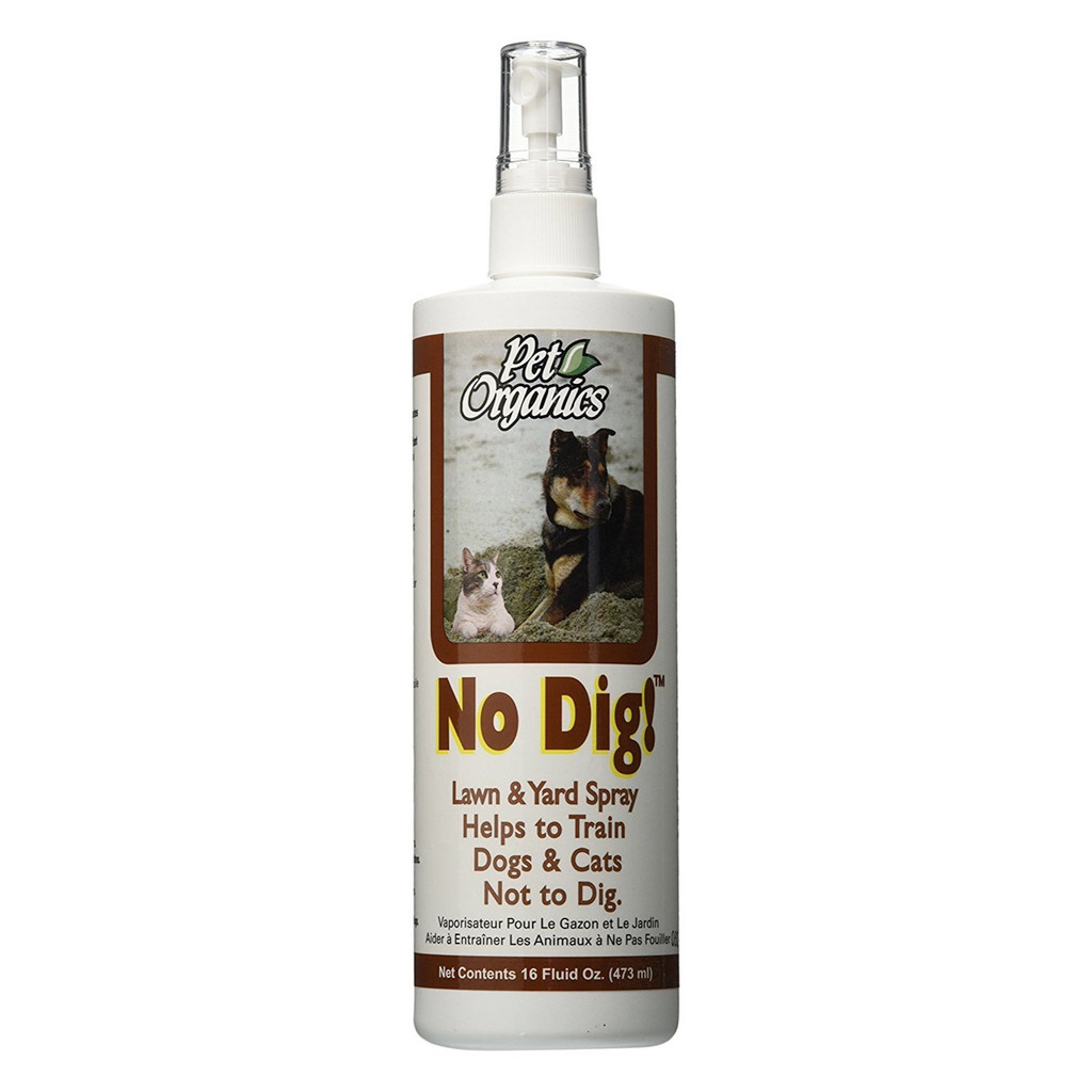 NaturVet No Dig! Lawn and Yard Spray for Dogs Natural Training Product 16 oz