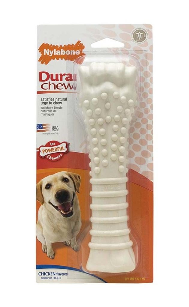 Nylabone DuraChew Chicken Flavored Blister Card Durable Fun Dog Chew Toy Souper