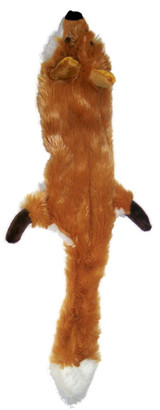 Ethical Pet Spot Skinneeez Forest Fox 24 inch | Plush Stuffing-Free Dog Toy