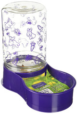 Lixit Animal Care Gravity Dispenser for Rabbits   2 lb Food or 48 oz Water