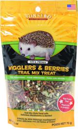 Vitakraft SunSeed Vita Prima Hedgehog Food Wigglers and Berries Treat 2.5 oz