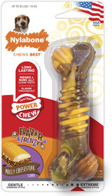 Nylabone DuraChew Flavor Frenzy Cheesesteak Bone Wolf Size | Toy for Dogs