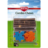 Super Pet Combos Apple Sticks and Crispy Wood Puzzle Natural Loofah Chew Toys
