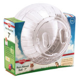 Kaytee Run-About Ball Clear 7 inch   Plastic Excercise Toy for Small Animals