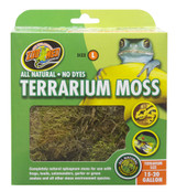 Zoo Med Terrarium Sphagnum Moss Cage Substrate Complete Natural 15/20 gallon